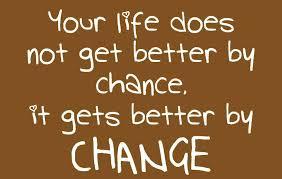 chance, change