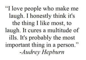 laugh,audrey hepburn