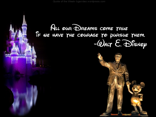 Dream, Walt Disney