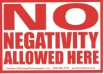 no negativity sign