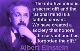 intuition, albert einstein